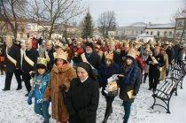 Orszak Trzech Króli w Chmielniku, 06-01-2016 r., fot.W.Kwiatkowski