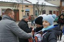 Koncert w Chmielniku w ramach 24.Finału Wielkiej Orkiestry Świątecznej Pomocy, 10-01-2016 r. fot.W.Kwiatkowski