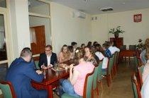 Spotkanie zmłodzieżą iopiekunami zeszkoły wLunenburgu