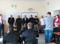 Zawody strażackie klas mundurowych szkół średnich