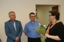 Ministerialna wizyta wchmielnickim Centrum Integracji Społecznej