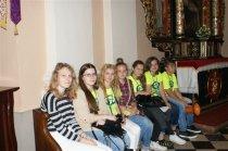 Pielgrzymi z Francji w Gminie Chmielnik w ramach ŚDM Kraków 2016- Piotrkowice