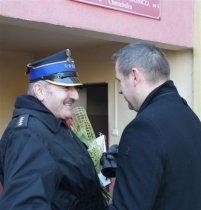 35 lat służby dowódcy JRG nr 4 wChmielniku. St.kpt Jarosław Drożdżowski przeszedł na emeryturę