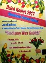 Z okazji Dnia Kobiet. Koncert wChmielnickim Centrum Kultury.