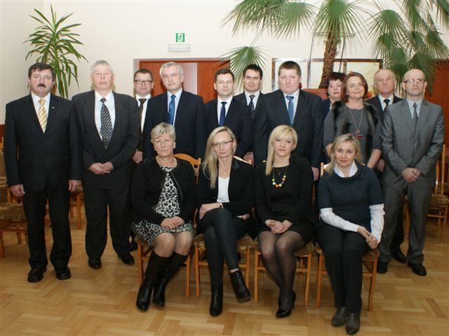 Rada Miejska wChmielniku - kadencja 2014-2018