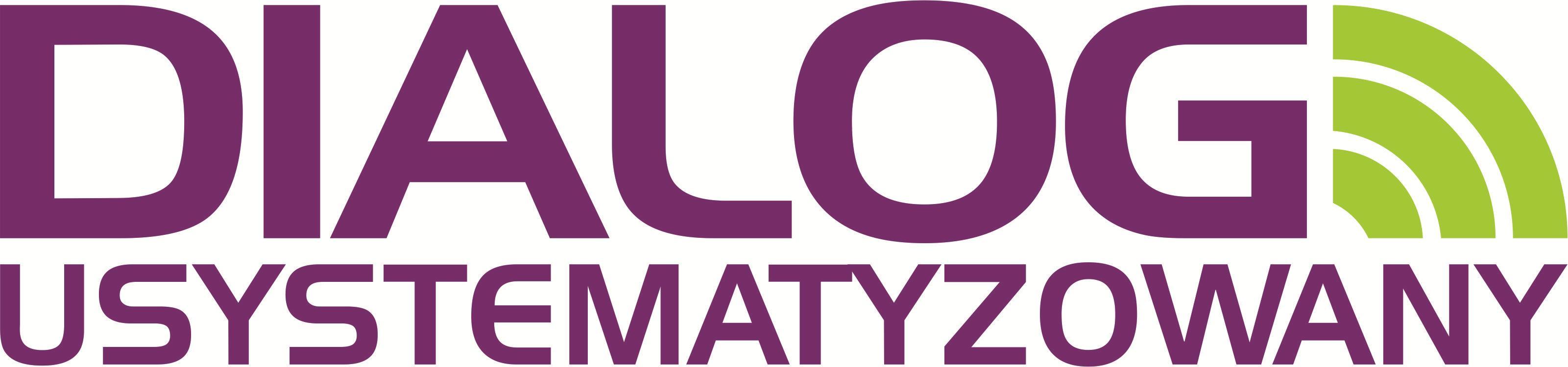 Dialog usystematyzowany - logo