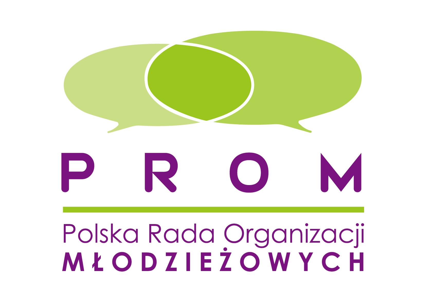 Polska Rada Organizacji Młodzieżowych - logo