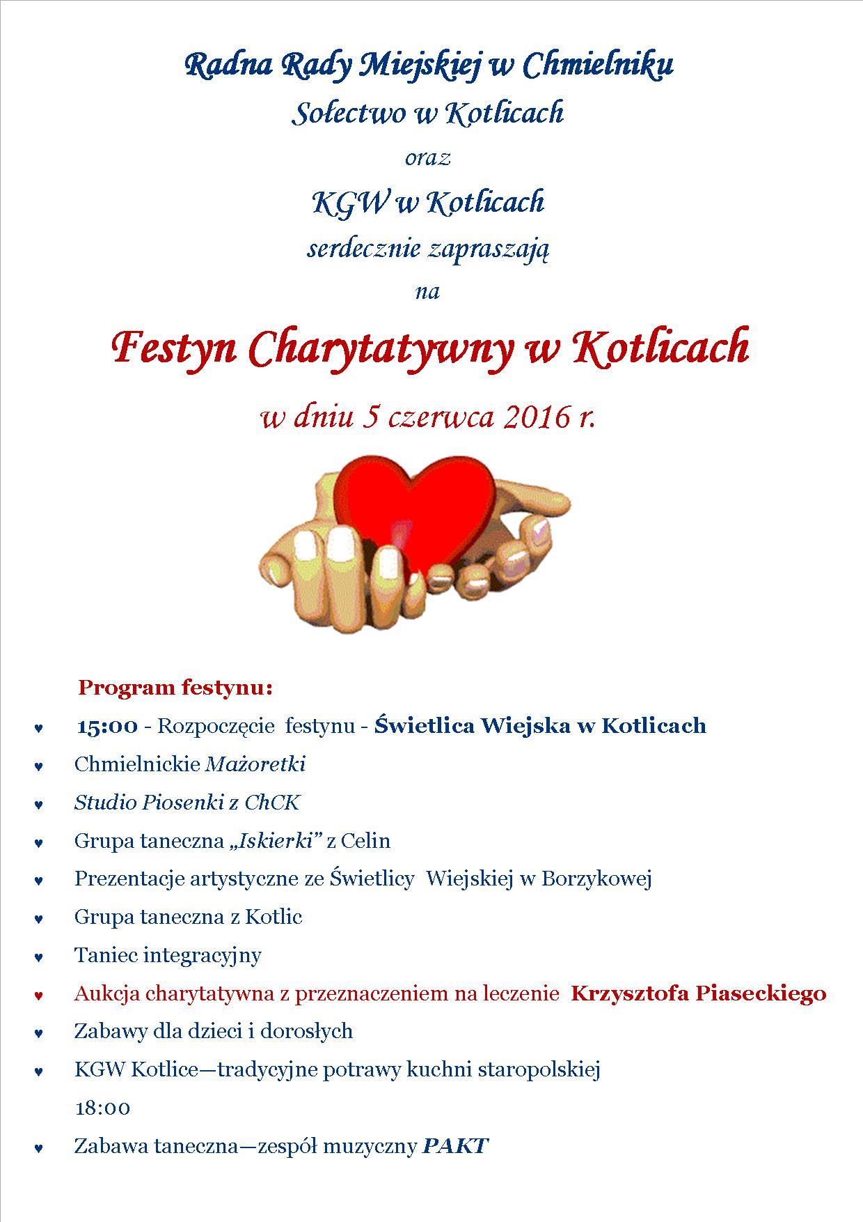 Koncert Charytatywny W Kotlicach 5062016 R